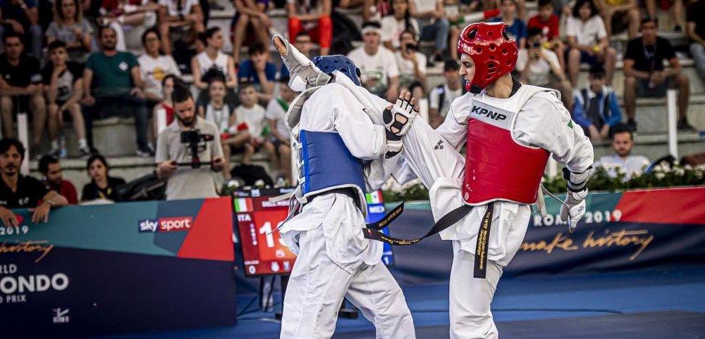 taekwondo president's cup 2020 helsingborg vito dell'aquila oro italia italy simone alessio oro gold categoria -58 kg -80 kg helsingborg open 2020 svezia sweden europe edition 2020