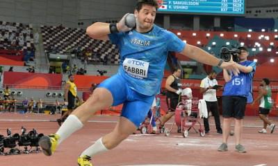 atletica campionati italiani assoluti 2020 leonardo fabbri lancio del peso italia italy atletica leggera getto del peso padova athletics