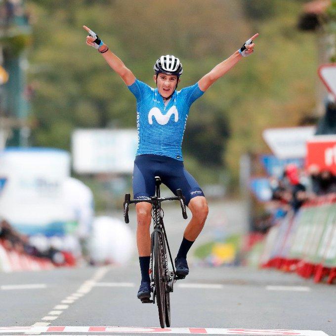 Vuelta, il primo arrivo il salita premia Martin