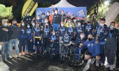 paratriathlon campionati italiani 2020 premiati triathlon paralimpico san benedetto del tronto fitri federazione italiana triathlon campionato italiano 2020 italia italy