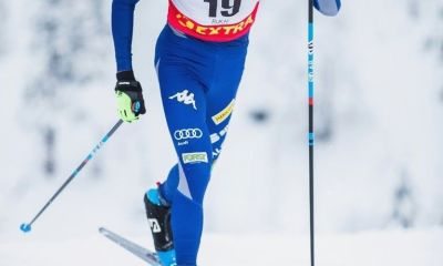 Francesco De Fabiani in azione al Ruka Nordic (FIN)