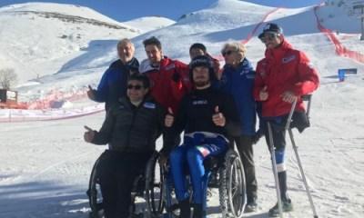 La squadra azzurra di Para Snowboard
