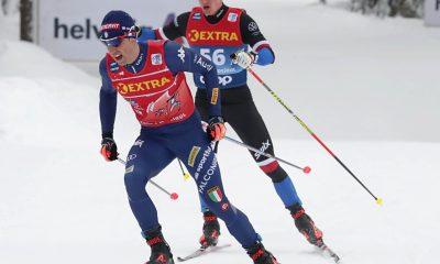 Federico Pellegrino nella tappa odierna del Tour de Ski 2021
