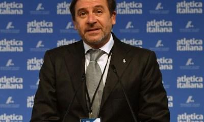 atletica stefano mei presidente fidal 2021-2024 italia federazione italiana atletica leggera athletics president