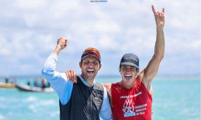 La felicità di Mattia Camboni, vicecampione del mondo rs:x