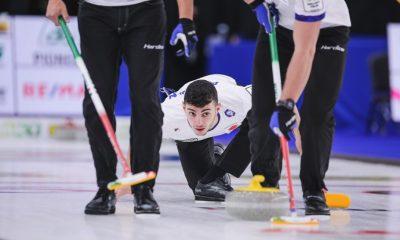 Sebastiano Arman ai Mondiali 2021 di curling