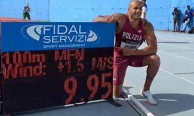 atletica jacobs record italiano 100m marcell jacobs atletica leggera 100 metri primato nazionale italian record savona