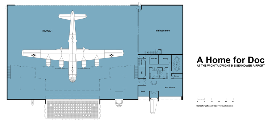 Doc S Friends Reveals Plans For B 29 Doc Hangar And
