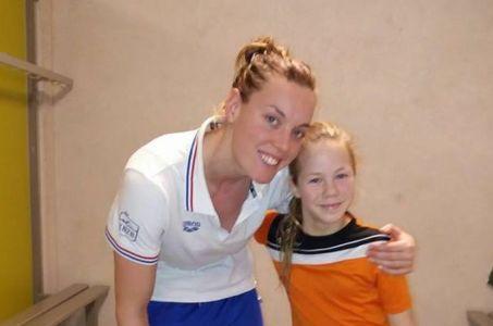 Sterke Romée van Rossem tijdens competitiewedstrijd