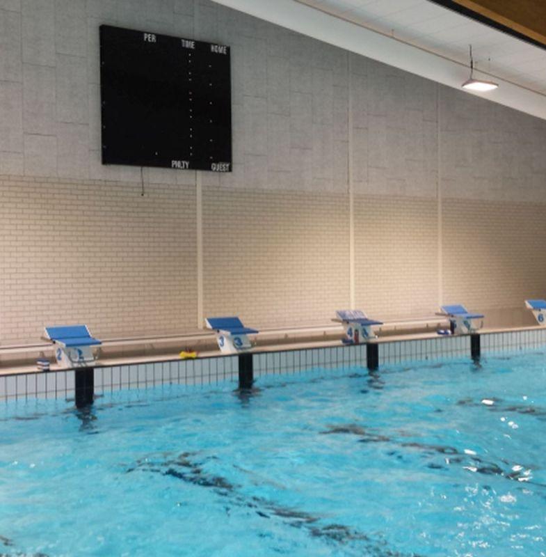 Stortvloed records Biesboschzwemmers