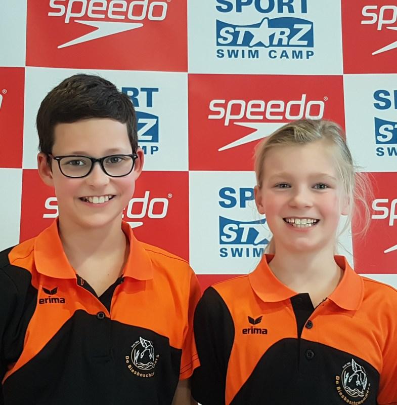 Clubrecords voor talenten Biesboschzwemmers