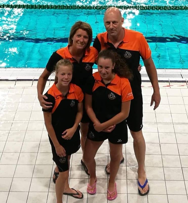 Records en goede tijden voor kwartet zwemmers