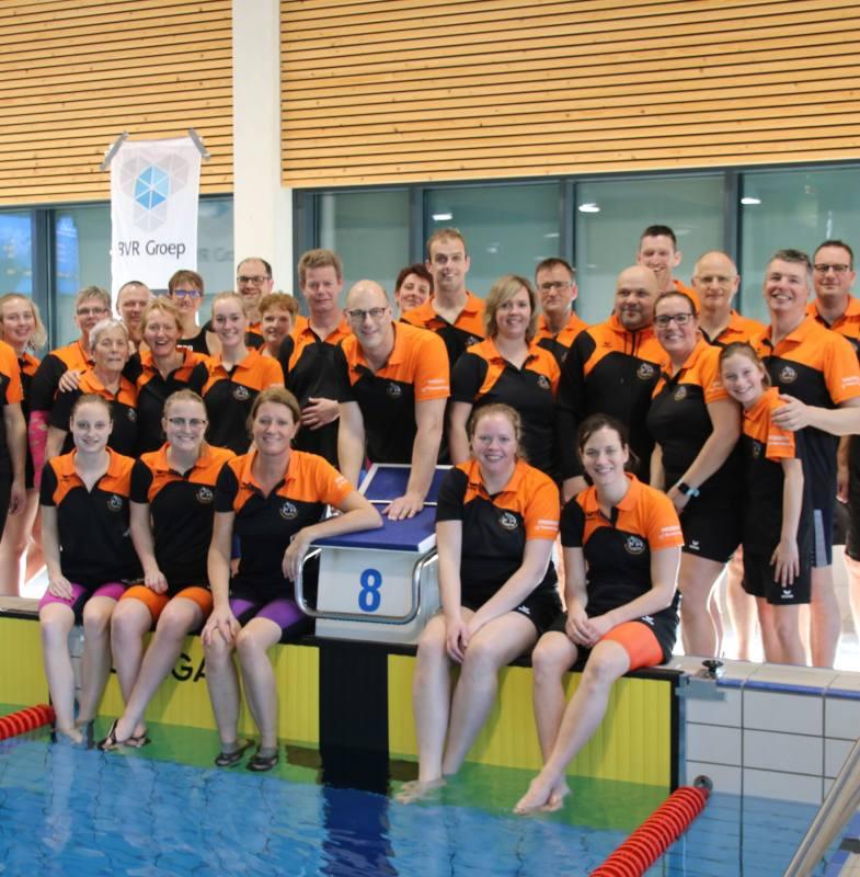 Succesvolle masterswedstrijd Biesboschzwemmers