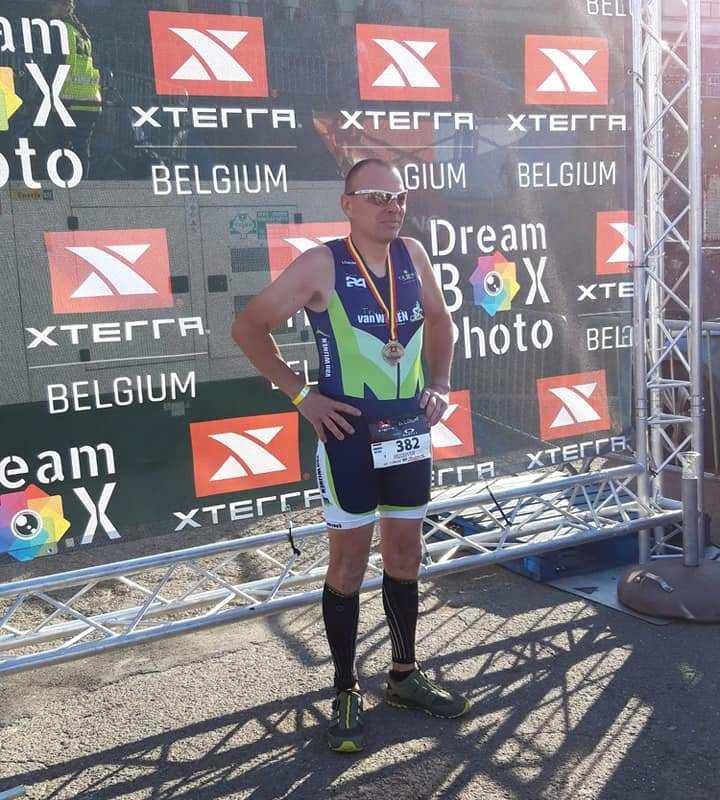 Erik Huisman neemt deel aan Xterra Belgium
