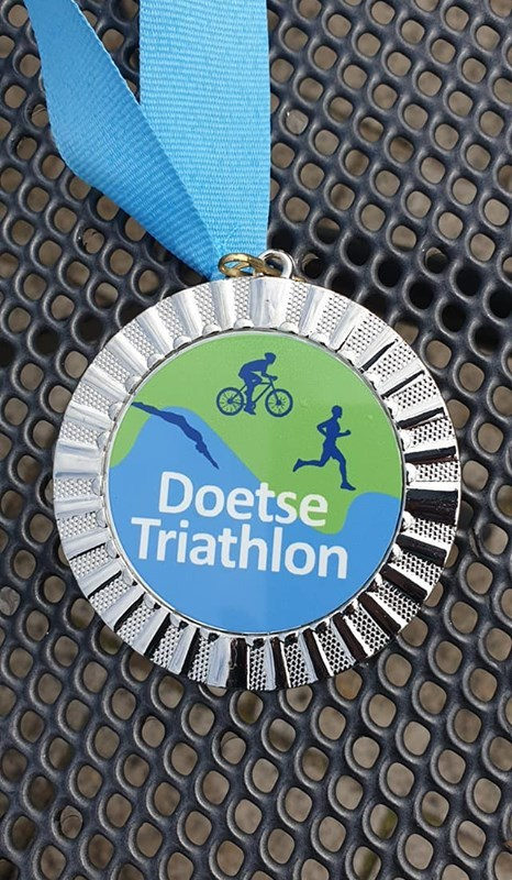 Harry Cornet wint Doetse Triathlon