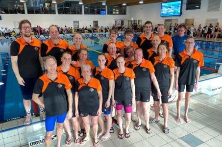 Goede masterswedstrijd Biesboschzwemmers