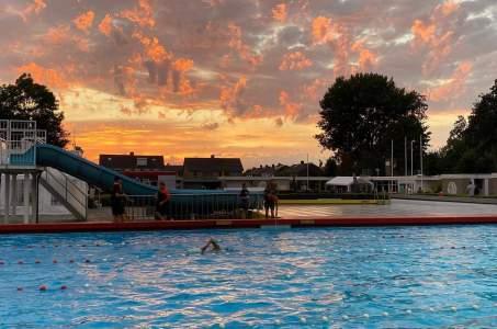 Gezellige trainingswedstrijd De Biesboschzwemmers