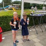 Nathan van Wijk en Cil de Vries