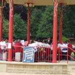 Saltaire Bandstand July 2012