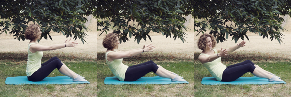Pilates in the Park - let's go outside!