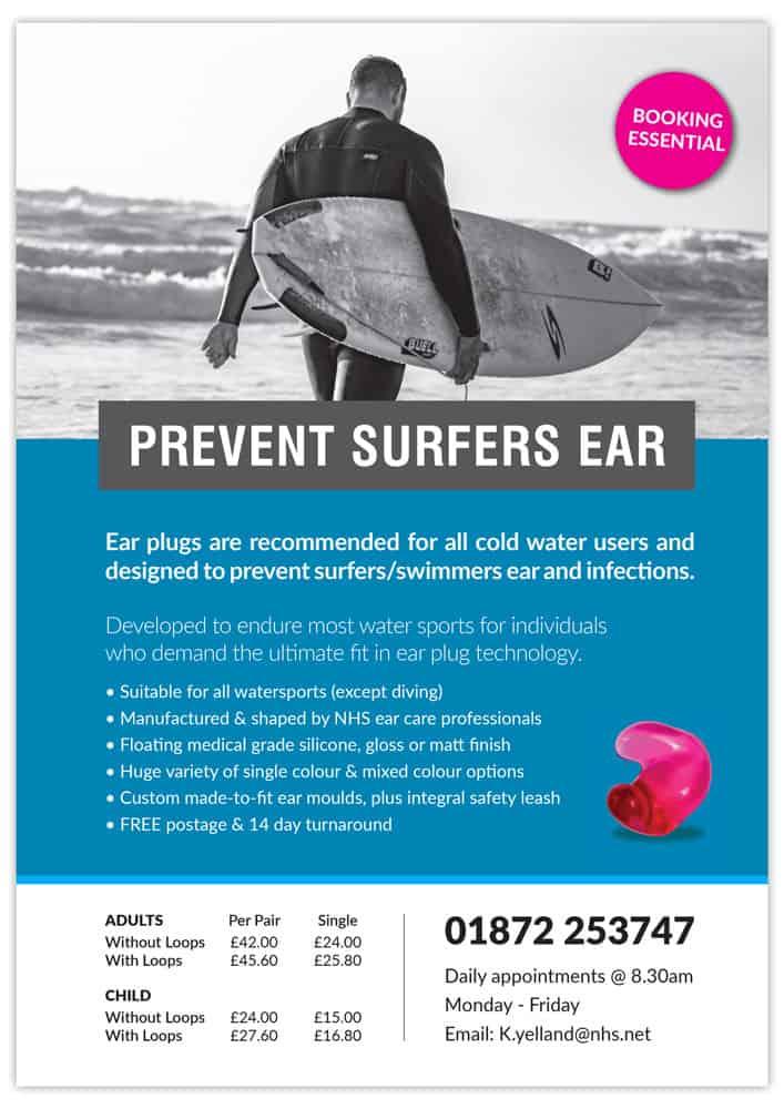 Surfers Ear Poster