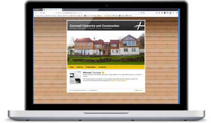 Cornwall Carpentry & Construction website