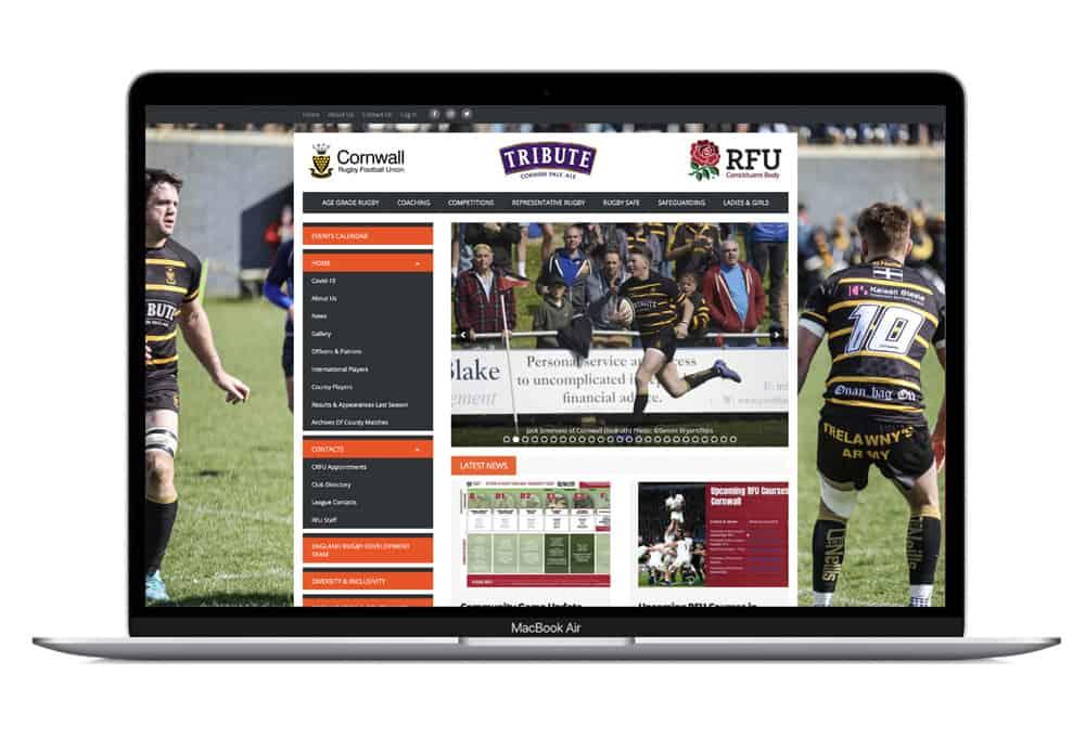 Cornwall Rugby website