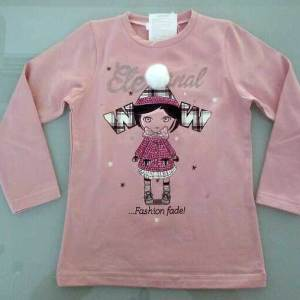 T-shirt ροζ ή φούξια / Pink T-shirt