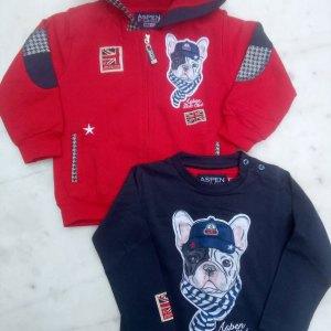 Σετ t-shirt και ζακέτα Aspen Polo Club 102830