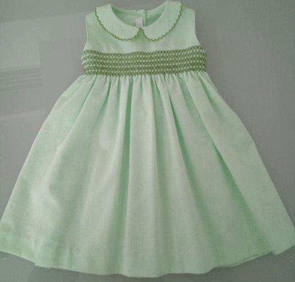 Φόρεμα λαχανί-πράσινο 13100