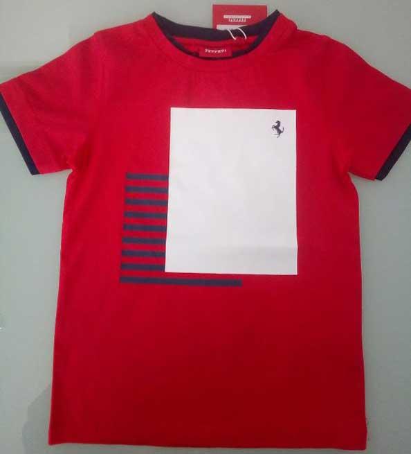 T-shirt κόκκινο 14541