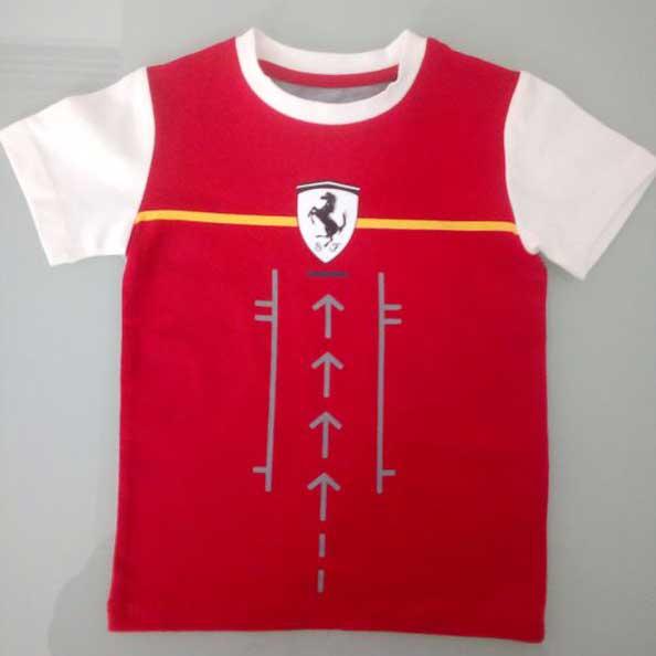 T-shirt Κόκκινο 153117