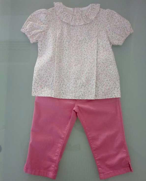 Σετ πουκάμισο και παντελόνι 16415