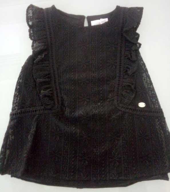 T-shirt μαύρο 16593