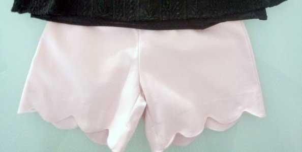 Σορτσάκι ροζ 17004