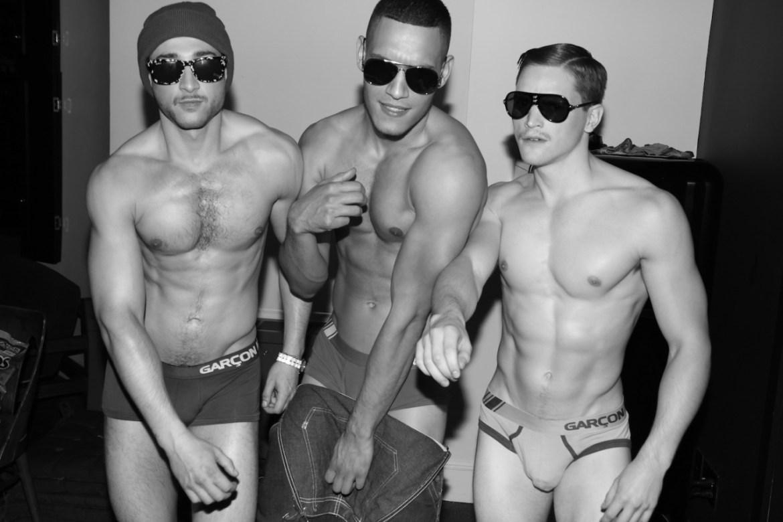 Jake Bass, Daniel Stilla, Greg Kelley, Kevin Danielczyk & Peter Ward by Marco Ovando for Garçon Model