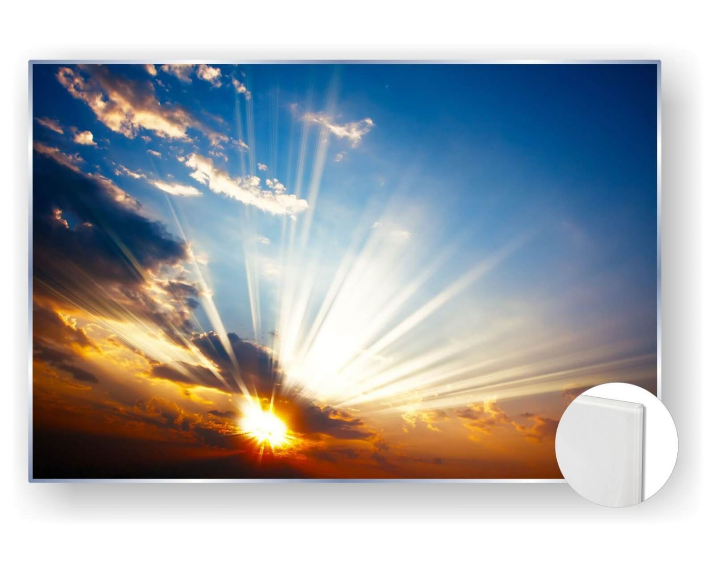 Acrylbilder Glasbild Bild 5mm edel Natur Himmel Wolken Sonnenaufgang  eBay
