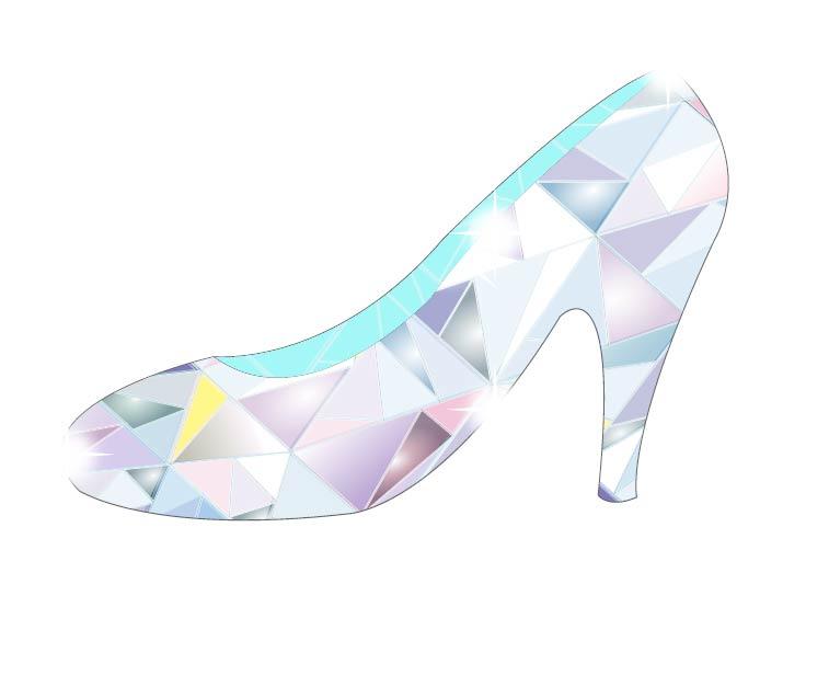 花嫁様に小さなガラスの靴のプレゼント♪♪