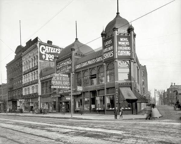 Detroit Michigan 1906