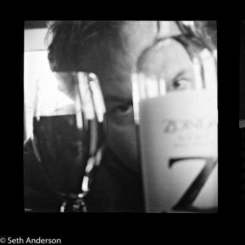 Self Portrait with Z Wine