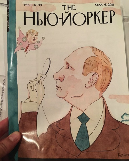Eustace Vladimirovich Tilley by Barry Blitt  newyorker  trump