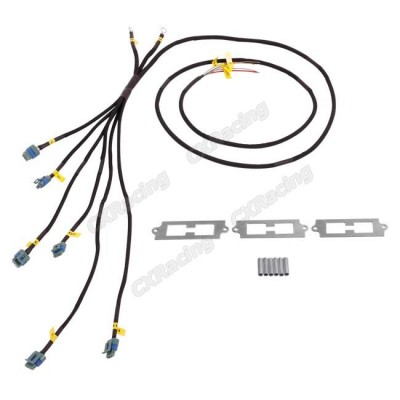 LQ9 LQ Coil Pack Aluminum Bracket Wire Harness For 2JZGTE