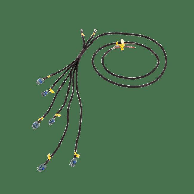 wiring harness heat shield