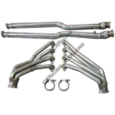 LS1 Header Headers Exhaust Pipe For Nissan 350Z with GM LS