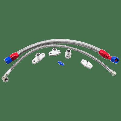 Turbo Oil Line Feed Drain Return Kit For Mazda Miata NA NB