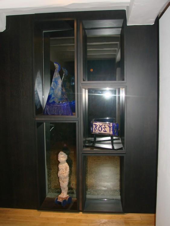 Meuble TV moderne wengé