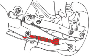 SPC 67655 Rear Toe Arms Left and Right Toyota 86