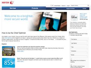 content marketing case - B2B - Xerox