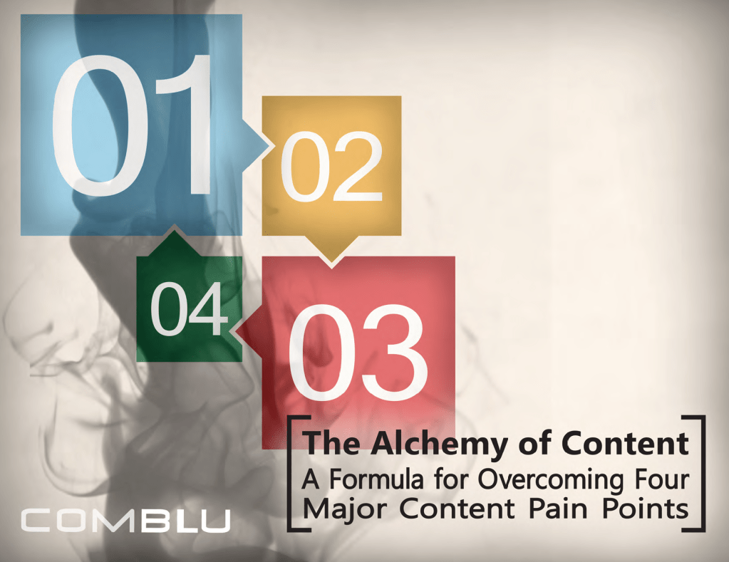 Ebook - The Alchemy of Content - Comblue