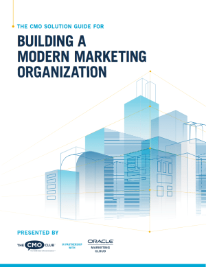 best marketing ebooks - building modern marketing organizations